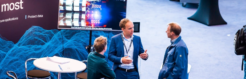 Exhibitor at Global AppSec Amsterdam during sessions