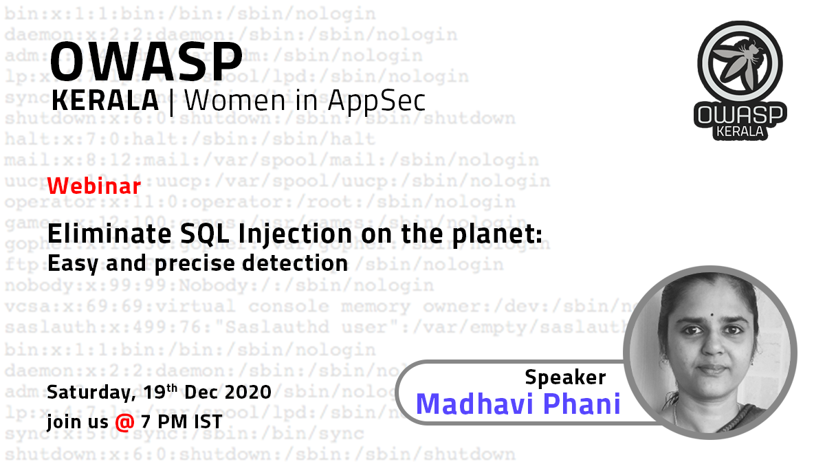 Eliminate SQL Injection on the planet - Easy and precise detection